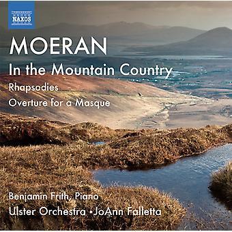 Moeran - Moeran: I fjellet landet; Rhapsodies; Overture for en Masque [DVD] USA import