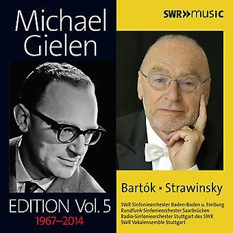 Bartok / Strawinsky / Gielen / Freiburg - Michael Gielen Edition Vol 5 [CD] USA import