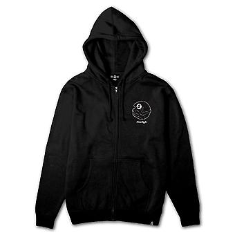 Rebel8 Dama Zip Up Hoodie Black