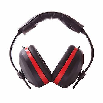 Portwest - Comfort Ear Protector Defenders Muffs Black Regular