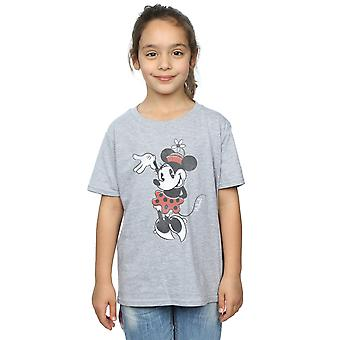 Filles de Disney Minnie Mouse T-Shirt en agitant