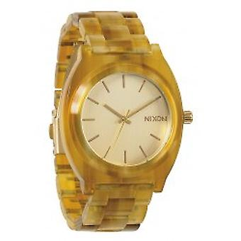 Nixon The Time Teller Acetate Champagne Gold / Amber (A327423)