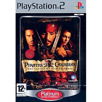 Pirates Of The Caribbean The Legend of Jack Sparrow Platinum (PS2) - New Factory Sealed