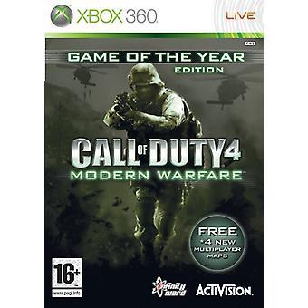 Call of Duty 4 Modern Warfare-Game of the Year Edition (Xbox 360)-fabriek verzegeld