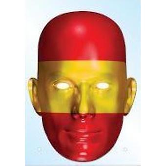 Espanja lippu naamio