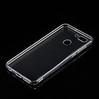Custodia trasparente mm 0,3 Silikoncase ultra-sottile per Huawei Nova 2 plus Coprisacca 2017 nuovo