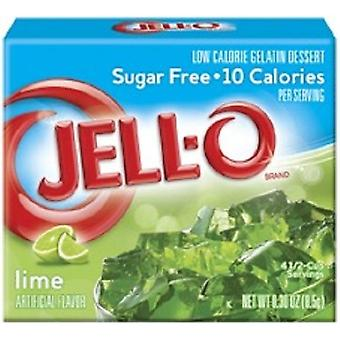Jell-O Lime Sugar Free Instant Jello Gelatin Mix