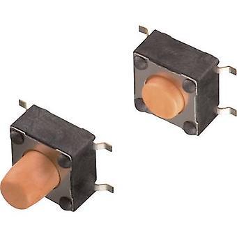 Würth Elektronik WS-TSS 430152050836 Druckknopf 12 V DC 0.05 A 1 x Off/(On) momentan 1 Stk.(s)