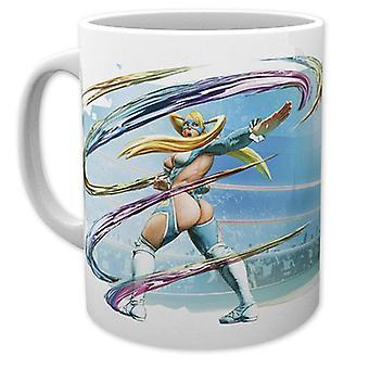 Street Fighter V Coppa R Mika, stampati in bianco, in ceramica, capienza circa 320 ml., in confezione regalo.