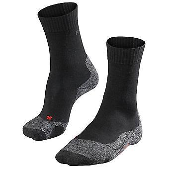 Falke Trekking 2 mittlere Socken - schwarz Mix