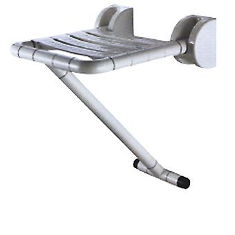 Folding Shower Seat With Leg for Elderly and Disabled | ABS Stainless Steel