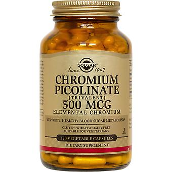Solgar Chromium Picolinate 500 mcg Vegetable Capsules 120ct