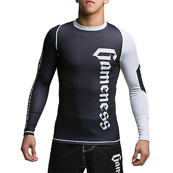 Gameness gioventù manica lunga Pro Rash Guard Black