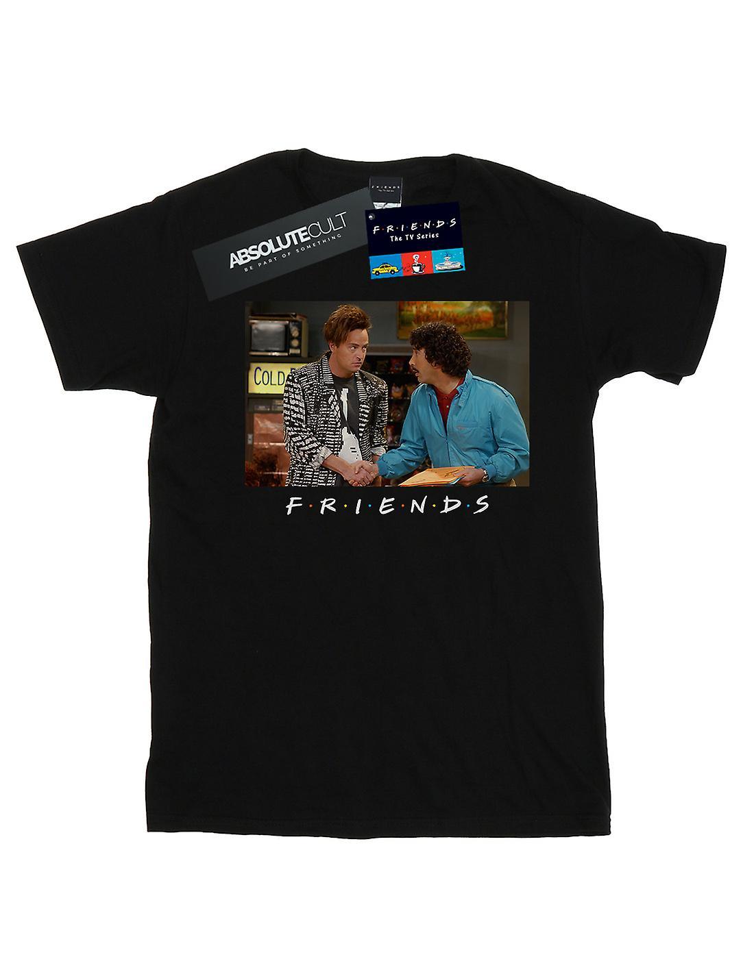 Friends Women's Ross And Chandler Handshake Boyfriend Fit T-Shirt