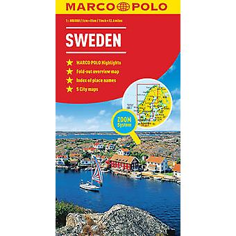 Sweden Marco Polo Map by Marco Polo - 9783829770033 Book