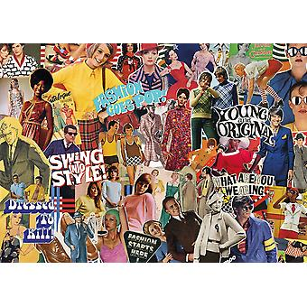 Gibsons Vintage Fashion Jigsaw Puzzle (1000 pièces)