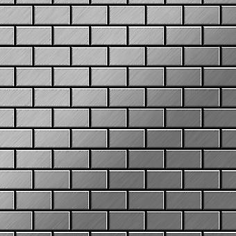 Metallmosaik Edelstahl ALLOY House-S-S-MB