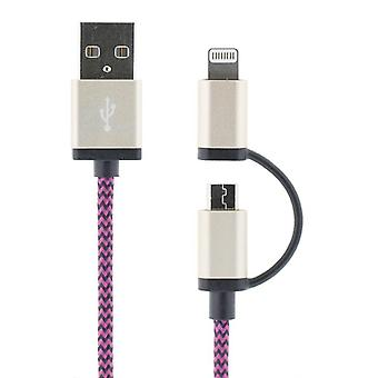USB sync /charger cable for iPod, iPhone, iPad, 2m