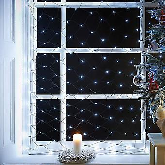 The Christmas Workshop 360 LED Chaser Net Lights - Bright White