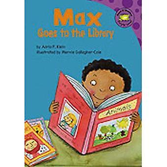 Max geht in die Bibliothek (Read It! Leser: das Leben von Max lila Ebene)