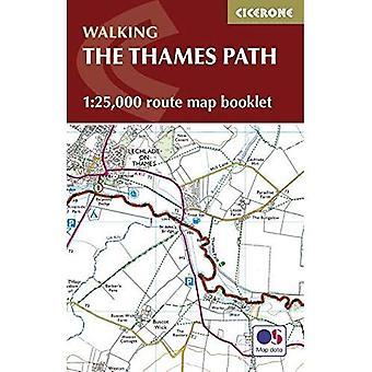 Häftet Thames Path karta