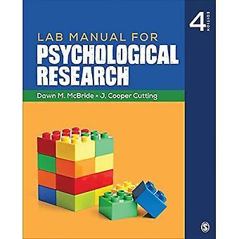 Übungsbuch für psychologische Forschung