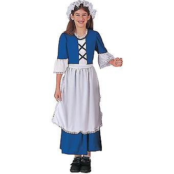 Little Miss Colonial Child Costume