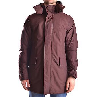 Peuterey Ezbc017057 Men's Burgundy Wool Outerwear Jacket