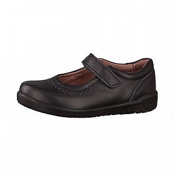 Ricosta meisjes Lillia School schoenen zwart leer