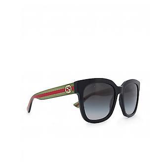 Gucci Sunglasses Gg Arm Logo Plastic Sunglasses