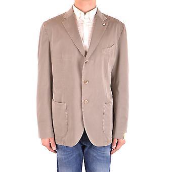 L.b.m. Ezbc215018 Men's Beige Cotton Blazer