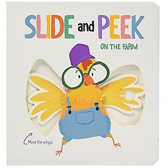 Slide & Peek - Wild Animals by Yoyo Books - 9789463600675 Book
