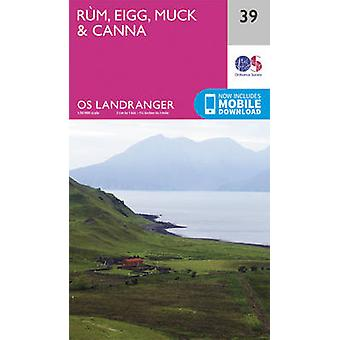 Rum - Eigg & Muck by Ordnance Survey - 9780319261378 Book
