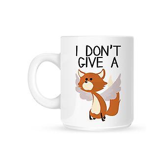 Grindstore Jeg giver ikke en flyvende Fox Krus