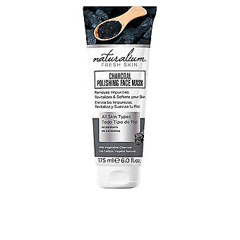 Naturalium Charcoal Polishing Face Mask All Skin Types 175ml