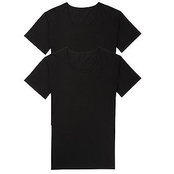 "Sloggi 24/7 2-Pack Crew Neck T-Shirt Black, X-Large (46"")"
