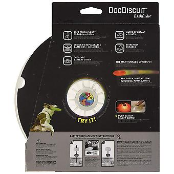 Nite Ize Nite Dawg Flashflight Dog Discuit LED Flying Disc (Disc-O)