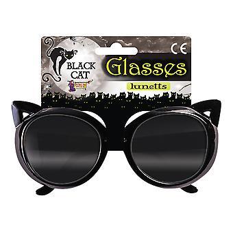 Bristol Novelty Black Cat Glasses