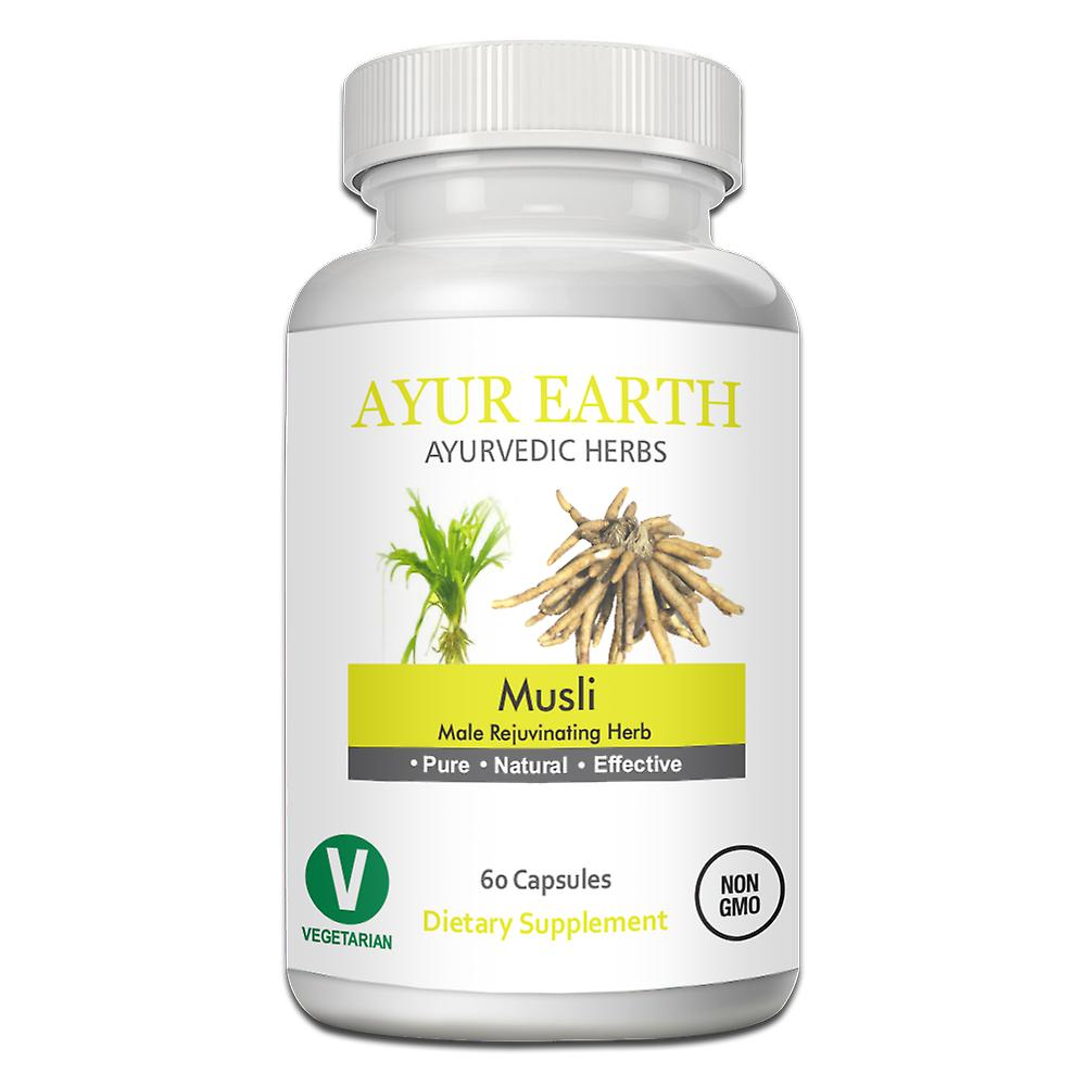 Ayur Earth Safed Musli Cholophytum Borivilianum Ayurvedic Herb