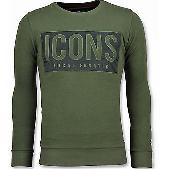 ICONS بلوك - سترة - 6355G - أخضر