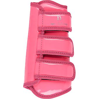 Imperial Riding Love Your Life Tendon Boots - Diva Pink Lacquer
