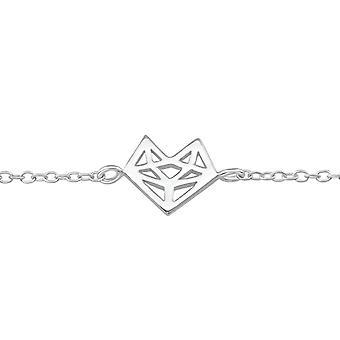 Heart - 925 Sterling Silver Chain Bracelets - W36736X