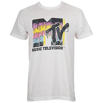 MTV Retro Logo Men's Tee Shirt