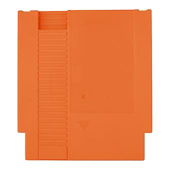 Compatible replacement game cartridge shell case for nintendo nes - orange