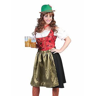 Bavaria Costume Ladies Tyrol Lady Dirndl Women's Costume Oktoberfest Costume Mountains Alps Carnival