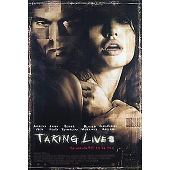 Taking Lives (Double Sided Style B) Original Cinema Poster