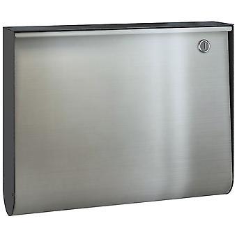 Serafini U-box steel box body black front stainless steel V4A
