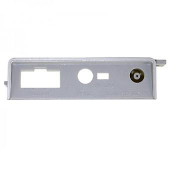 Replacement power input jack port plate for us nintendo snes consoles