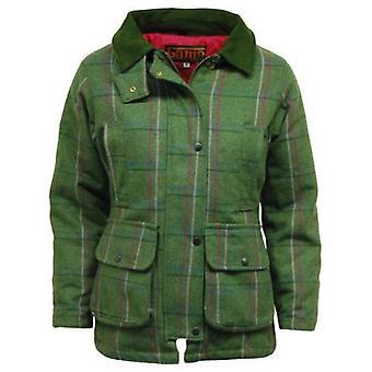 Ladies Game Ruby/Abby Check Tweed Jacket