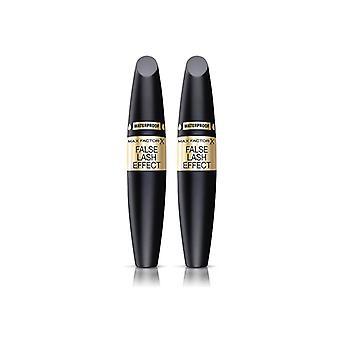 2-pack Max factor false lash effect mascara Waterproof zwart 13, 1ml